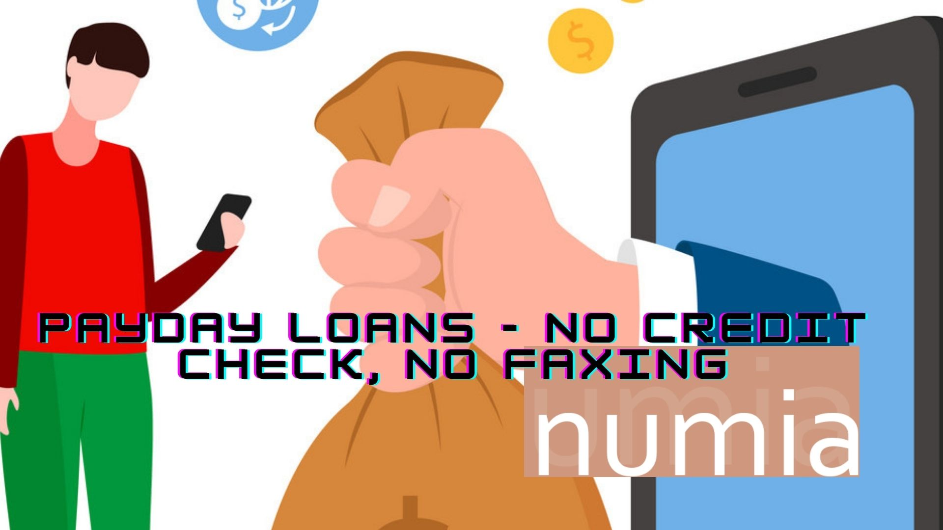 Get Instant Payday Loans Online with No Faxing, No Credit Check, No Phone Calls